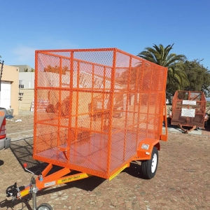 MESH TRAILER SUPERLOADER UNBRAKED
