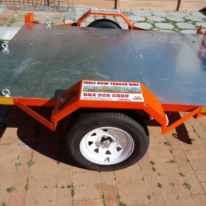 BIKE TRAILER - SMALL FLATBED TRAILER