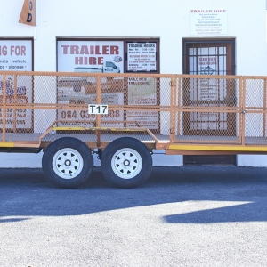 Mesh trailer 5m x 1.8m x 1m Doublewheeler Cartrailer small cars
