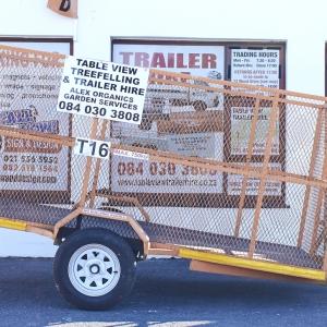 Mesh trailer 3 m x 1.5m x 2m